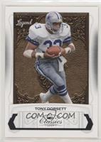 1f4722262dd Tony Dorsett Hall of Fame Serial Numbered Football Cards