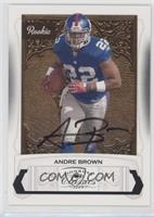 Andre Brown #/299