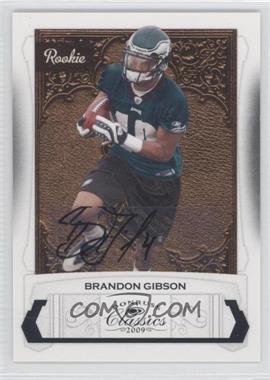 2009 Donruss Classics - [Base] #160 - Brandon Gibson /499