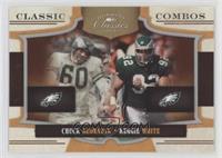 Chuck Bednarik, Reggie White #/250
