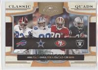 Jerry Rice, Tim Brown, Andre Reed, Michael Irvin #/250