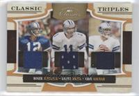 Danny White, Troy Aikman, Roger Staubach /25