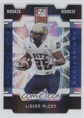 2009 Donruss Elite - [Base] - Aspirations Die-Cut #160 - LeSean McCoy /75