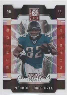 2009 Donruss Elite - [Base] - Status Red Die-Cut #48 - Maurice Jones-Drew /32