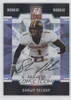 Autographed Rookies - Shawn Nelson #/499