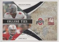 Chris Wells, Malcolm Jenkins #/199