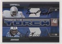 Chris Johnson, Earl Campbell #/25