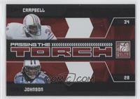 Chris Johnson, Earl Campbell #/999