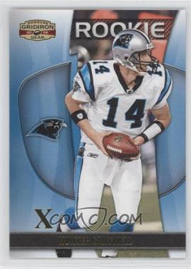 2009 Donruss Gridiron Gear - [Base] - Gold Xs #150 - Hunter Cantwell /100