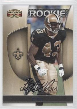 2009 Donruss Gridiron Gear - [Base] - Platinum Signatures [Autographed] #179 - P.J. Hill /25