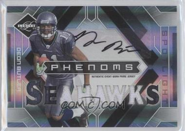 2009 Donruss Limited - [Base] - Silver Spotlight #215 - Phenoms Jersey Prime Autographs - Deon Butler /25