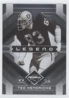 Legend - Ted Hendricks #/399