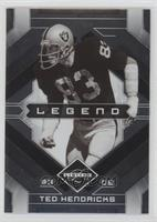 Legend - Ted Hendricks #/399