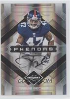 Phenoms Autographs - Travis Beckum /399