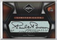 Paul Brown #4/10