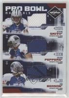 Steve Smith, Julius Peppers, Jon Beason, Steve Smith /100