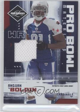 2009 Donruss Limited - Pro Bowl Materials #3 - Anquan Boldin /100