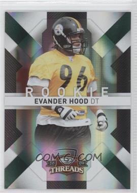 2009 Donruss Threads - [Base] - Century Proof Green #138 - Evander Hood /100