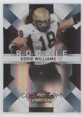 2009 Donruss Threads - [Base] - Century Proof Platinum #136 - Eddie Williams /25