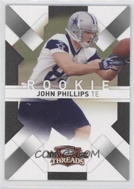 2009 Donruss Threads - [Base] - Retail Rookies #156 - John Phillips /999