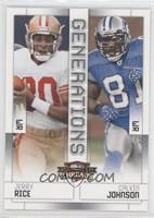 Jerry Rice, Calvin Johnson
