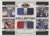 Aaron Curry, Jason Smith, Matthew Stafford, Tyson Jackson #/100
