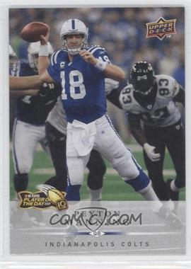 2009 NFL Player of the Day - [Base] #POD-3 - Peyton Manning