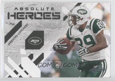 2009 Playoff Absolute Memorabilia - Absolute Heroes #12 - Jerricho Cotchery