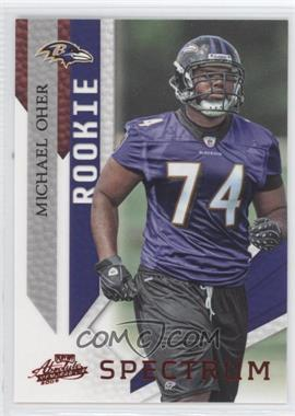 2009 Playoff Absolute Memorabilia - [Base] - Spectrum Red #171 - Michael Oher