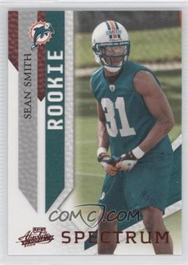 2009 Playoff Absolute Memorabilia - [Base] - Spectrum Red #189 - Sean Smith