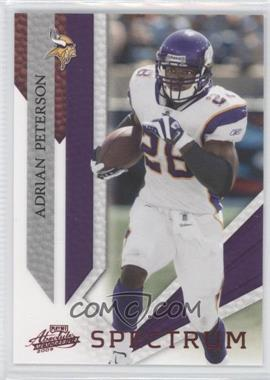 2009 Playoff Absolute Memorabilia - [Base] - Spectrum Red #55 - Adrian Peterson