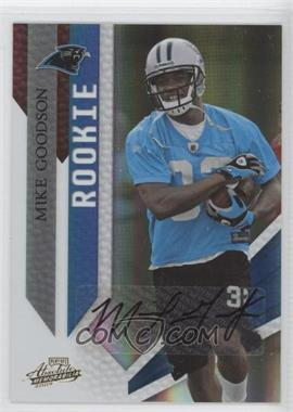 2009 Playoff Absolute Memorabilia - [Base] #173 - Mike Goodson /149