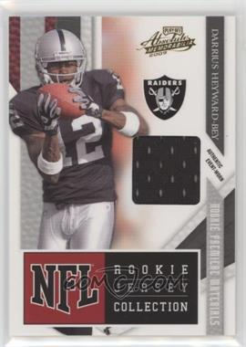 2009 Playoff Absolute Memorabilia - NFL Rookie Jersey Collection #11 - Darrius Heyward-Bey