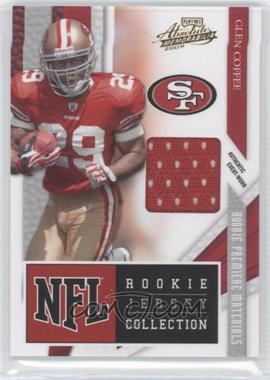 2009 Playoff Absolute Memorabilia - NFL Rookie Jersey Collection #30 - Glen Coffee
