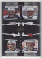 Laurence Maroney, Randy Moss, Tom Brady, Wes Welker /100
