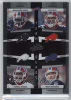 Terrell Owens, Trent Edwards, Lee Evans, Marshawn Lynch /100