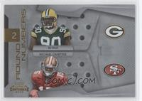 B.J. Raji, Michael Crabtree #/100
