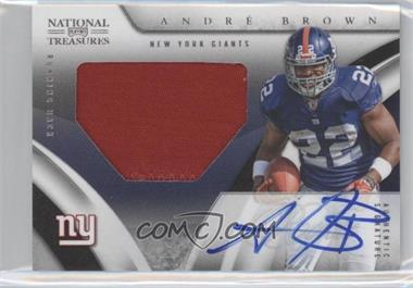 2009 Playoff National Treasures - [Base] #102 - Andre Brown /99