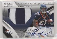 Rookie Signature Materials - Knowshon Moreno #/99
