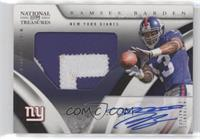 Rookie Signature Materials - Ramses Barden [Noted] #/99