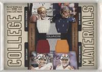 Dan Marino, John Elway, Roger Staubach, Peyton Manning #/99