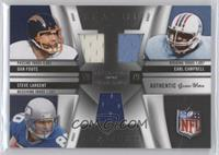 Earl Campbell, Dan Fouts, Steve Largent /99