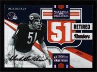 Dick Butkus [Noted] #/10