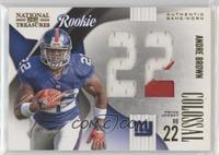 Andre Brown #/25