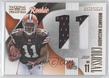 2009 Playoff National Treasures - Rookie Colossal Materials - Jersey Number Prime #32 - Mohamed Massaquoi /25