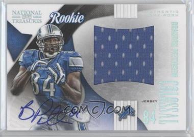 2009 Playoff National Treasures - Rookie Colossal Materials - Signatures [Autographed] #16 - Brandon Pettigrew /50