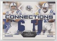 Peyton Manning, Reggie Wayne #/250