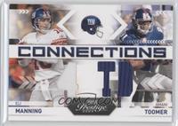 Amani Toomer, Eli Manning #/250