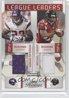 Adrian Peterson, DeAngelo Williams, Michael Turner, Clinton Portis #/150