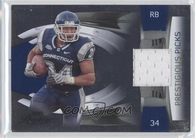 2009 Playoff Prestige - Prestigious Picks - Blue Materials [Memorabilia] #18 - Donald Brown /250